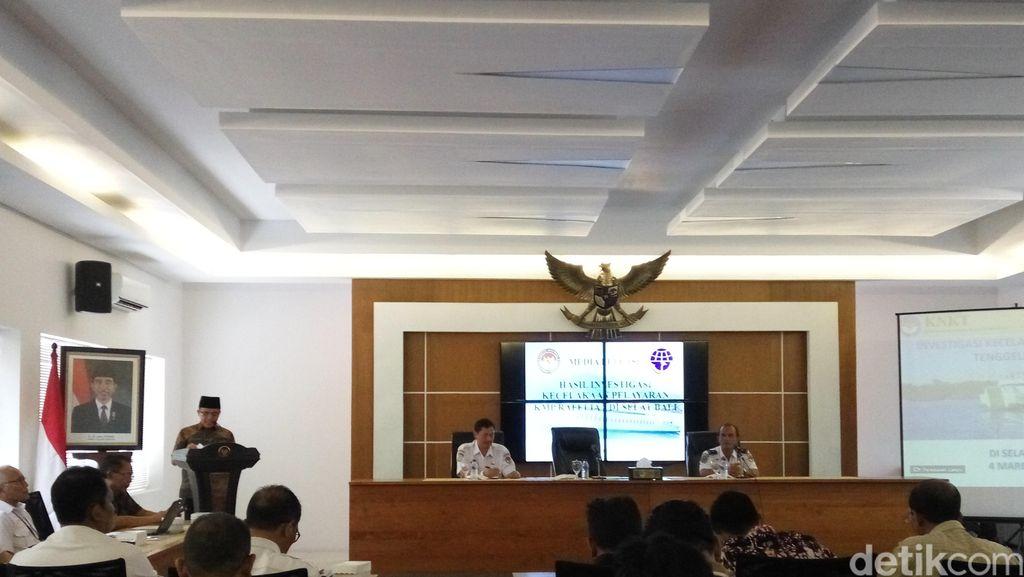Ini Hasil Investigasi KNKT soal Penyebab KMP Rafelia II Tenggelam di Selat Bali