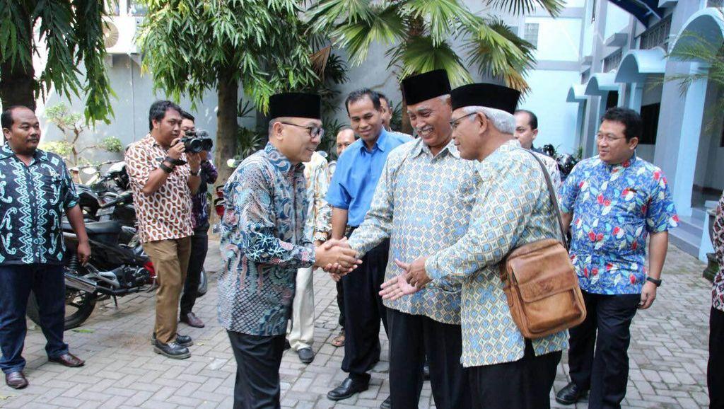 Ketua MPR Temui Pimpinan Muhammadiyah dan Kunjungi Pesantren di Bojonegoro