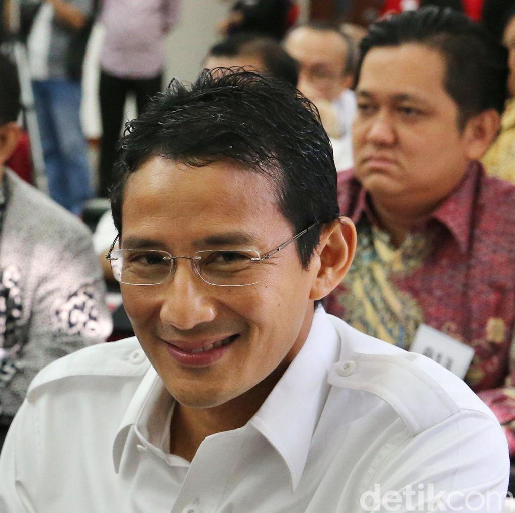 M Taufik: Sandiaga Dipilih Jadi Cagub DKI Karena Usahanya Dekati Masyarakat