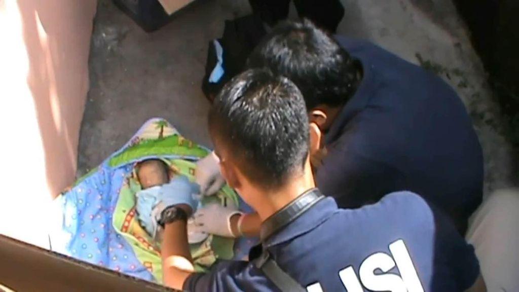 Sesosok Mayat Bayi Ditemukan di Belakang Gedung SMK di Pondok Kopi