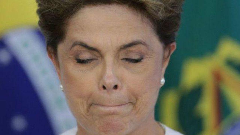 Berhasil Dimakzulkan Senat, Presiden Brasil Dilma Roussef Lengser