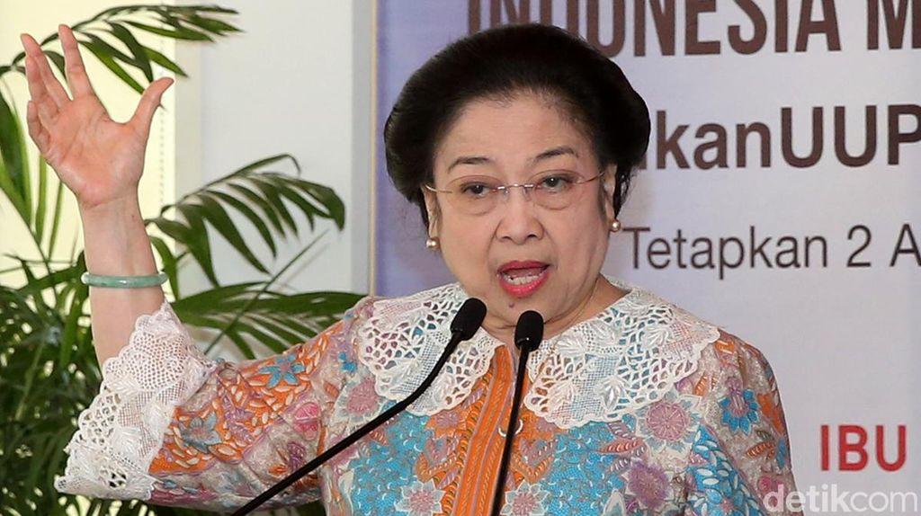 Saat Megawati Minta Pancasila Digaungkan Melalui Lagu Rock