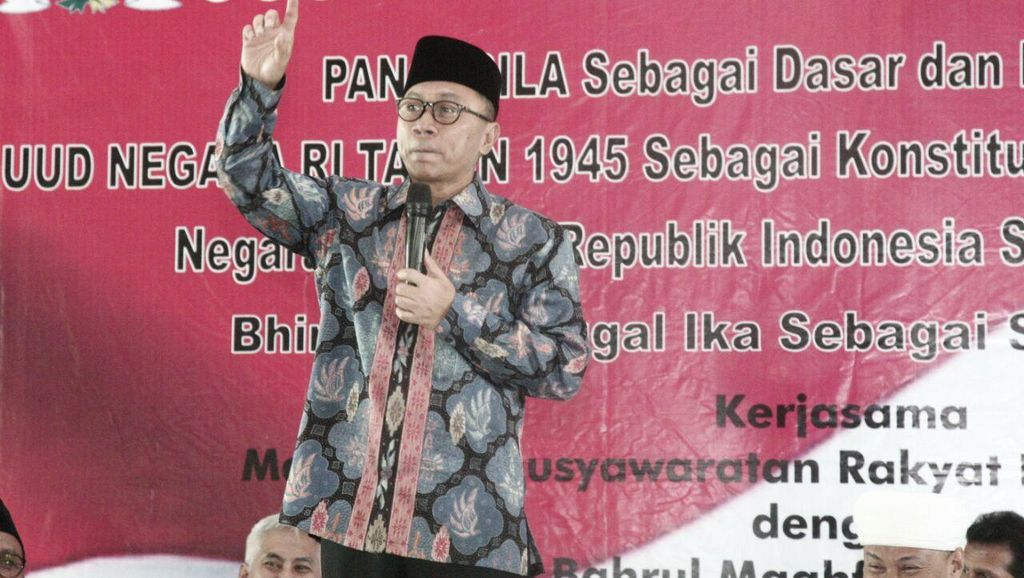 Ketua MPR Zulkifli Hasan: Saya Tidak Takut Terhadap Isu PKI