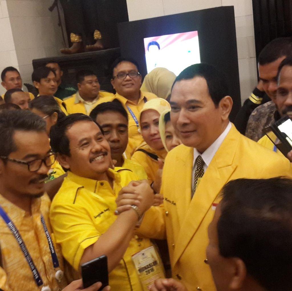 Novanto Tempatkan Tommy Soeharto Jadi Anggota Dewan Pembina Golkar