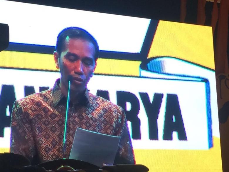 Golkar Akan Dukung Jokowi di Pilpres 2019?