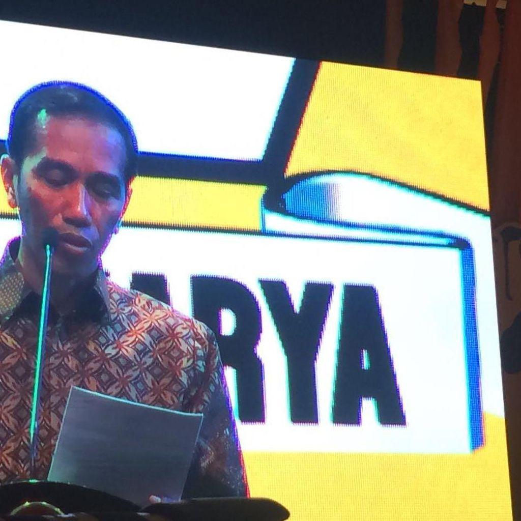 Golkar Bakal Deklarasi Dukung Jokowi Jadi Capres 2019 di Rapimnas