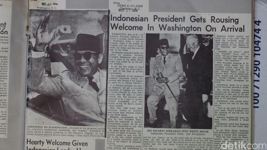 Hari ini 60 Tahun Silam: Kunjungan Bung Karno Memukau Publik Amerika