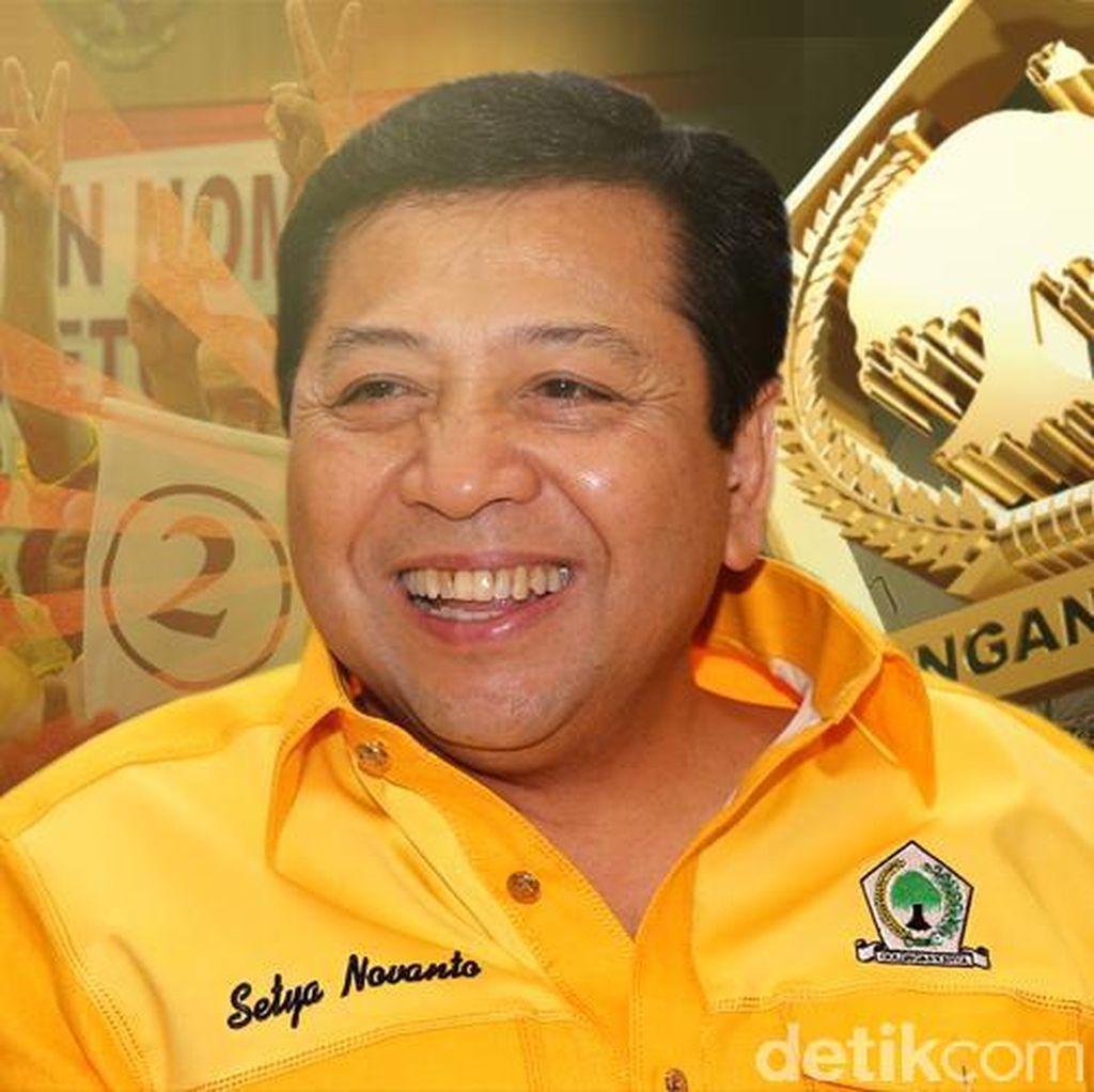 Novanto Bakal Tempatkan Eks Caketum Golkar Jadi Ketua Koordinator?