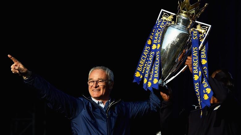 Ranieri Sebut Mustahil Leicester Bisa Jadi Juara Lagi