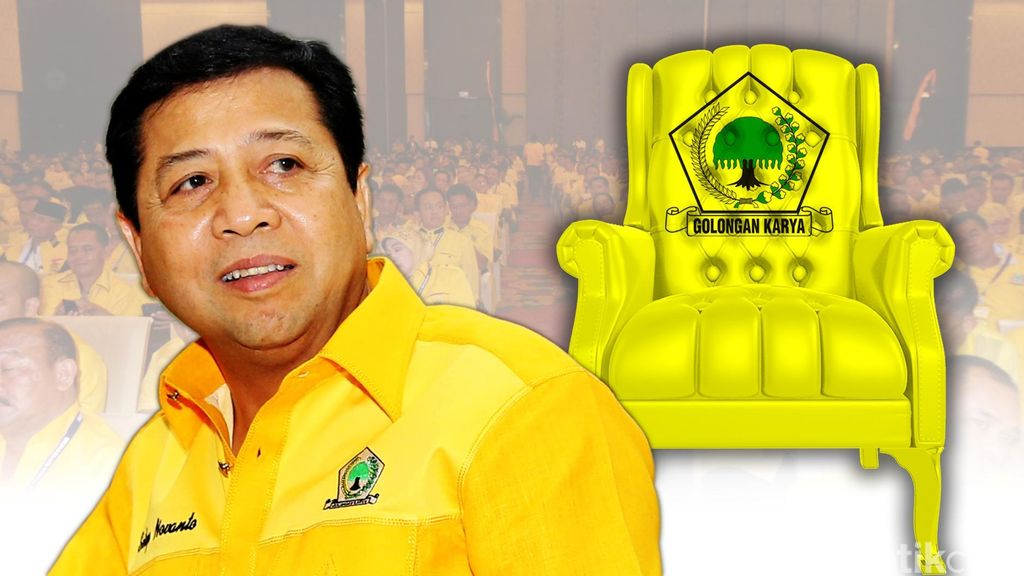 Novanto Umumkan Susunan Kabinet Golkar Besok Senin