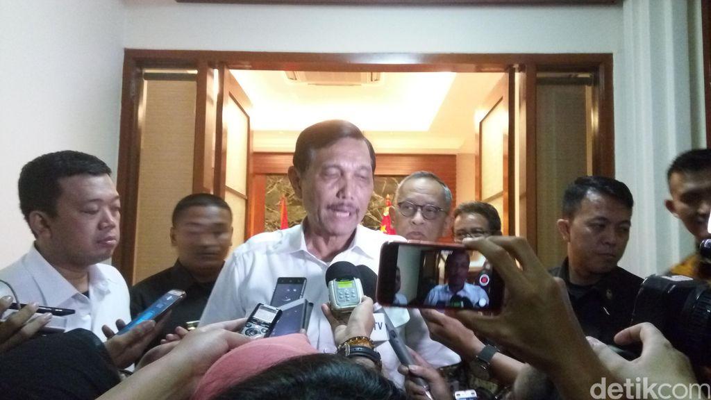 Golkar Bakal Usung Jokowi di Pilpres 2019, Luhut Tersenyum