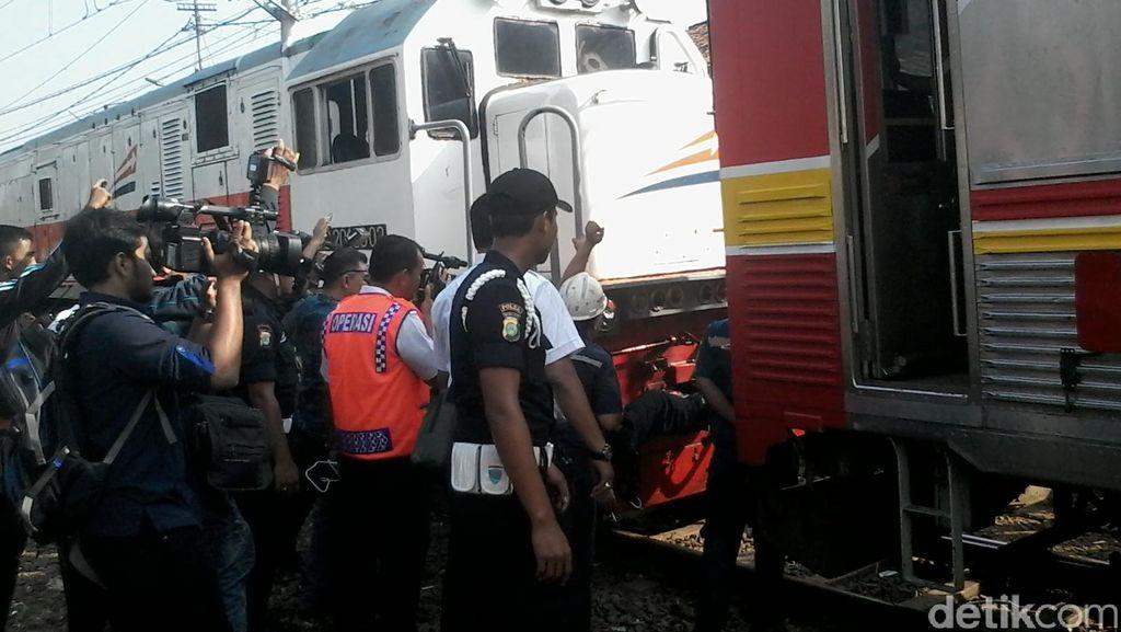 Penyebab Kereta Anjlok di Manggarai Masih Diinvestigasi