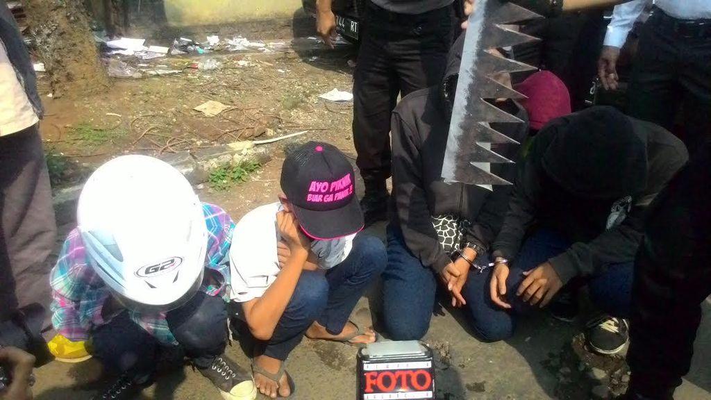 Siswa SMP di Bogor ini Diciduk Polisi karena Bawa Gergaji Besar Saat Nongkrong