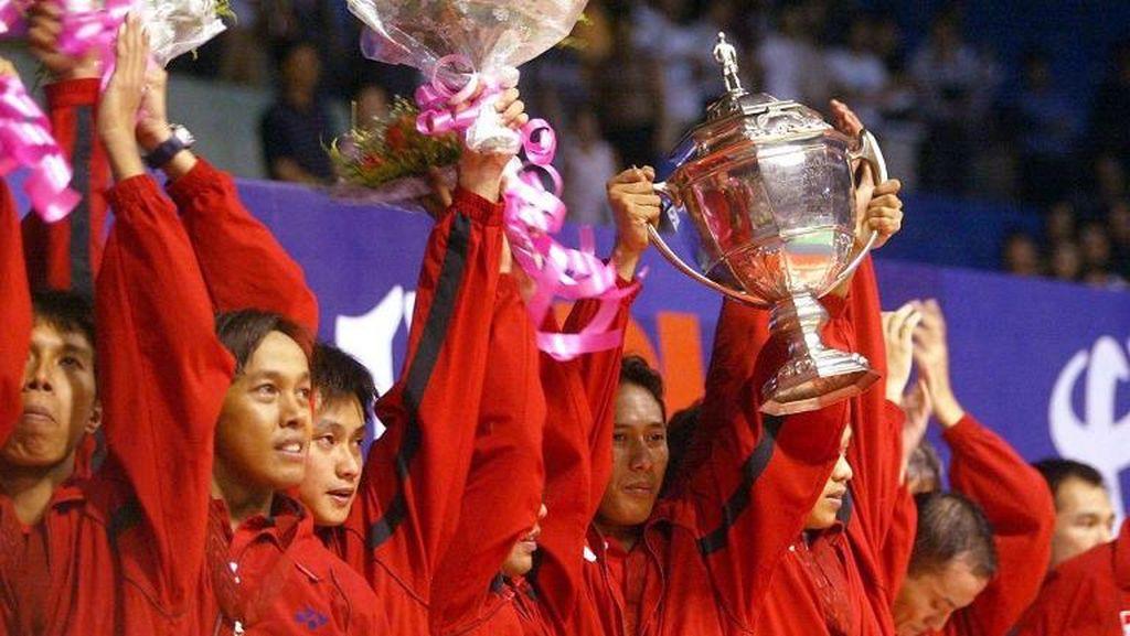 Ini Sejarah Duel Indonesia-Denmark di Final Piala Thomas