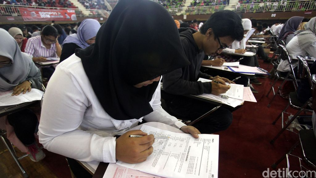 46.056 Peserta SBMPTN Panlok Bandung Diminta Cek Lokasi Hari Ini