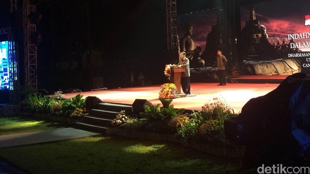 Peringatan Waisak di Candi Borobudur, Wapres JK Bicara Bhinneka Tunggal Ika
