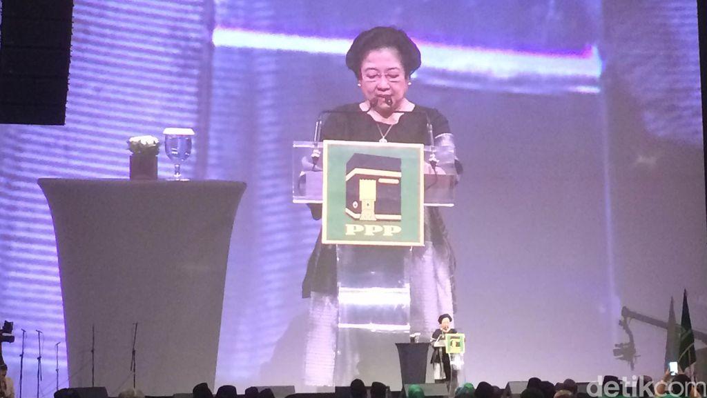 Pidato di Acara PPP, Megawati Bicara Soal Masalah Negara Muslim