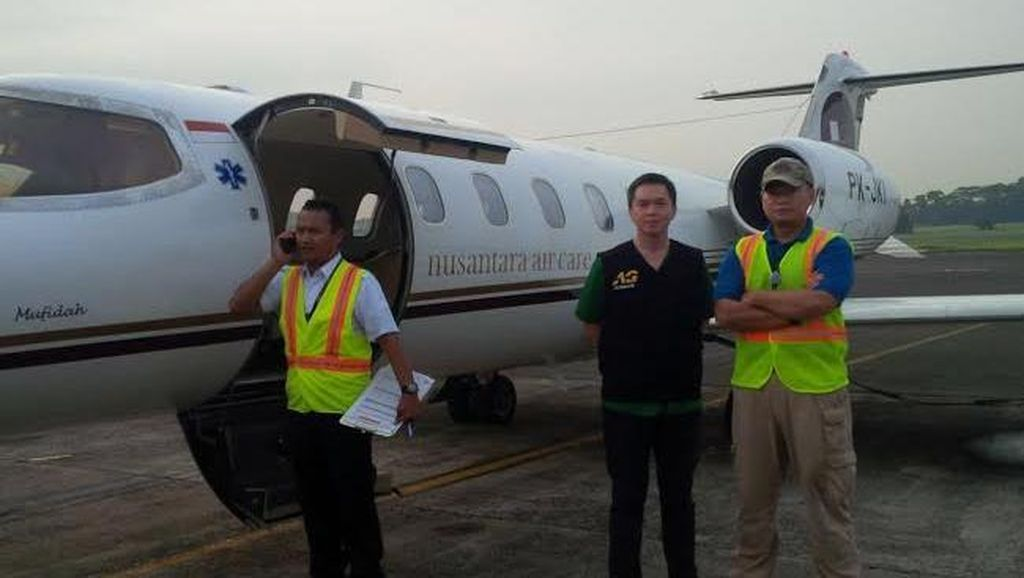 Artha Graha Peduli Kirim Jet untuk Evakusi dr Arifin yang Koma di Bajawa NTT