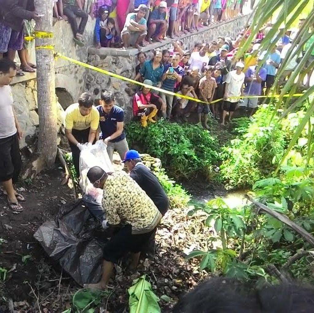 Mayat Terbungkus Plastik Dibuang di Sungai Karyawan KSU di Banyuwangi