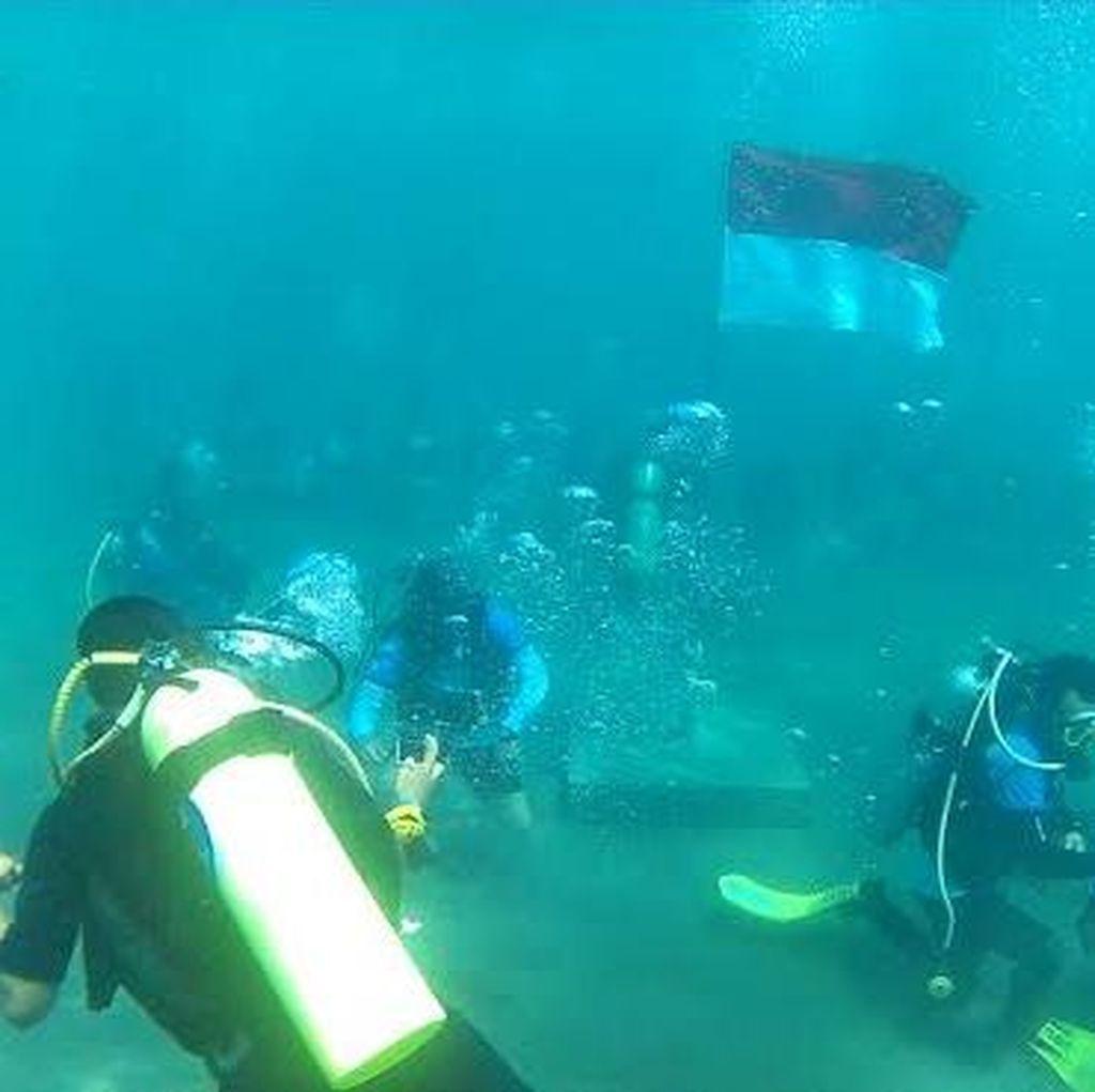 Nelayan Bangsring Menyelam 28 Jam Sukses Cetak Rekor MURI