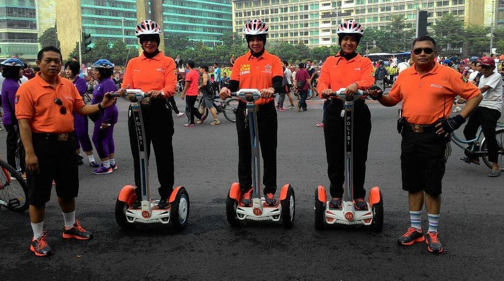 Polisi Pariwisata Beraksi Amankan Car Free Day