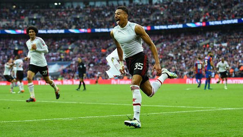 Kalahkan Palace, Manchester United Juara Piala FA