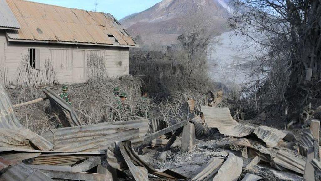 BNPB: Semua Korban Tewas Gunung Sinabung Tinggal di Zona Berbahaya