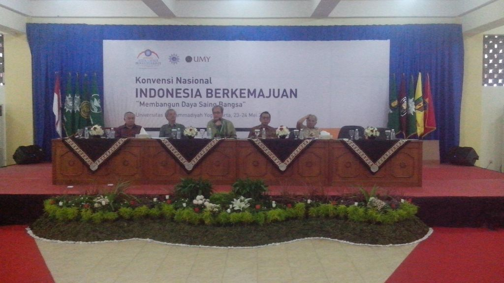 Muhammadiyah Gelar Konvensi Nasional Indonesia Berkemajuan di Yogya