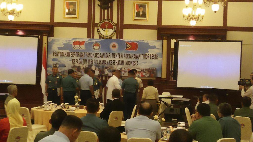 Timur Leste Puji Kerja Tim Pelayanan Kesehatan Indonesia di Dili