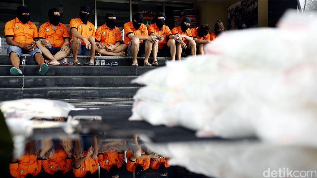 Pengedar Sabu Jaringan Taiwan Diringkus