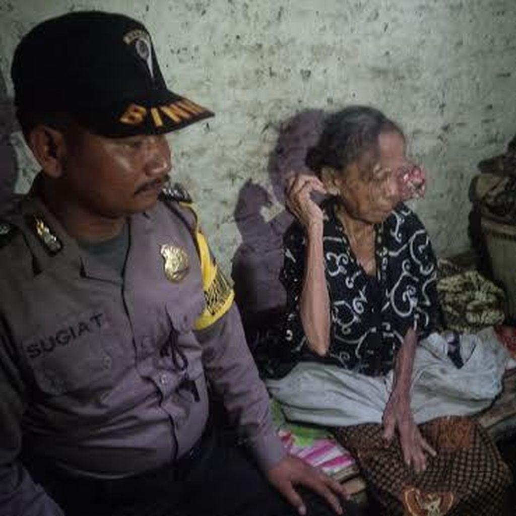 Nenek Kalimah, Penderita Tumor Mata Hidup Sendirian Tanpa Perhatian Pemerintah
