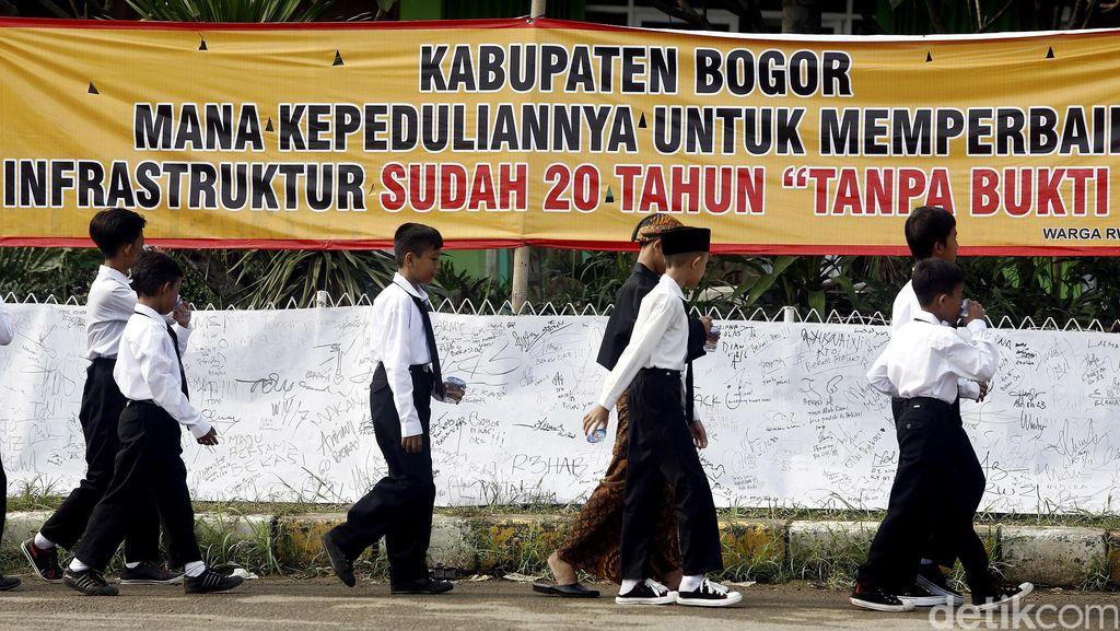 Begini Rencana Pemkab Bogor untuk Perbaikan Jalan Bagi Warga Villa Nusa Indah