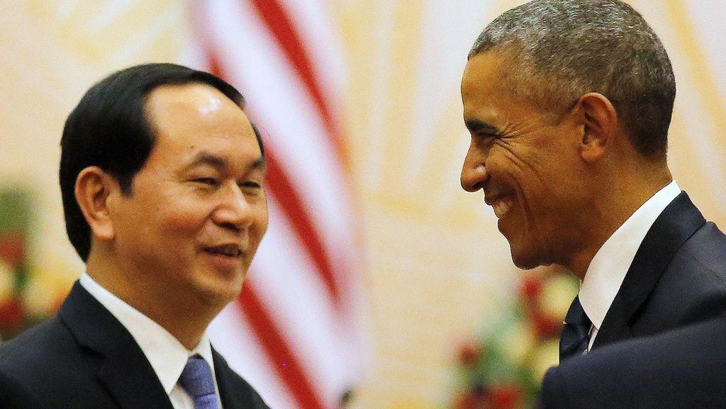 Berkunjung ke Vietnam, Obama Umumkan Pencabutan Embargo Senjata
