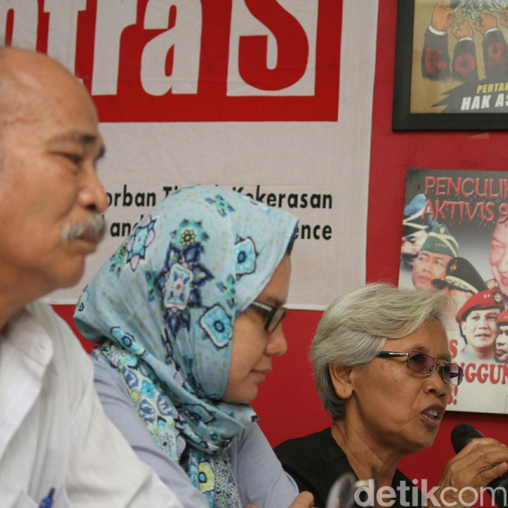 Korban Tragedi 98 Tolak Gelar Pahlawan untuk Soeharto