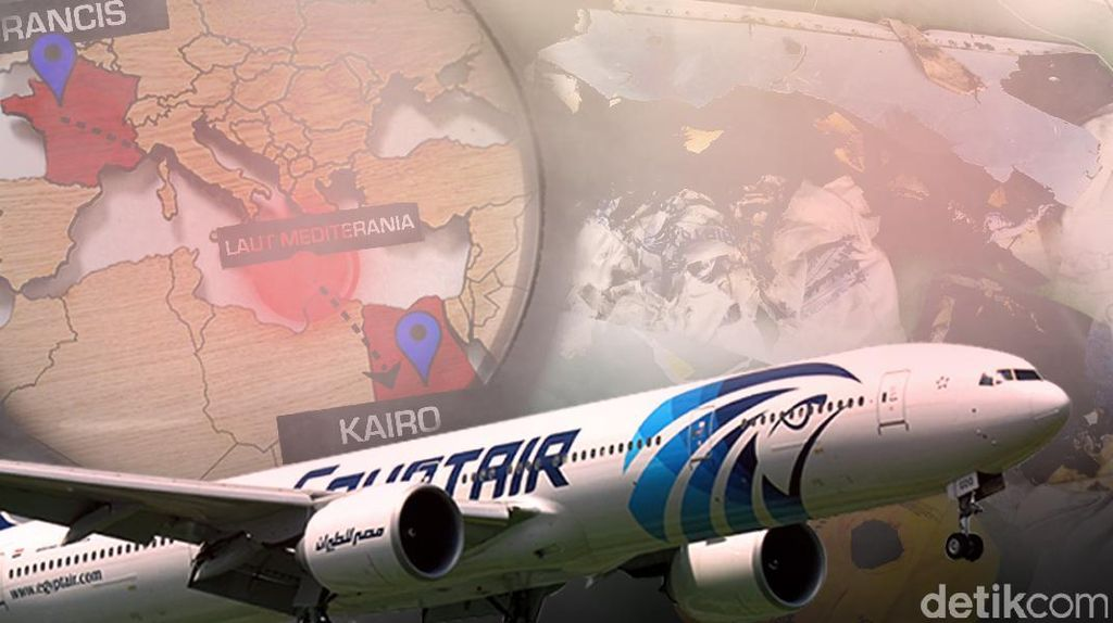 Tim Forensik Ambil DNA Keluarga Untuk Identifikasi Korban EgyptAir