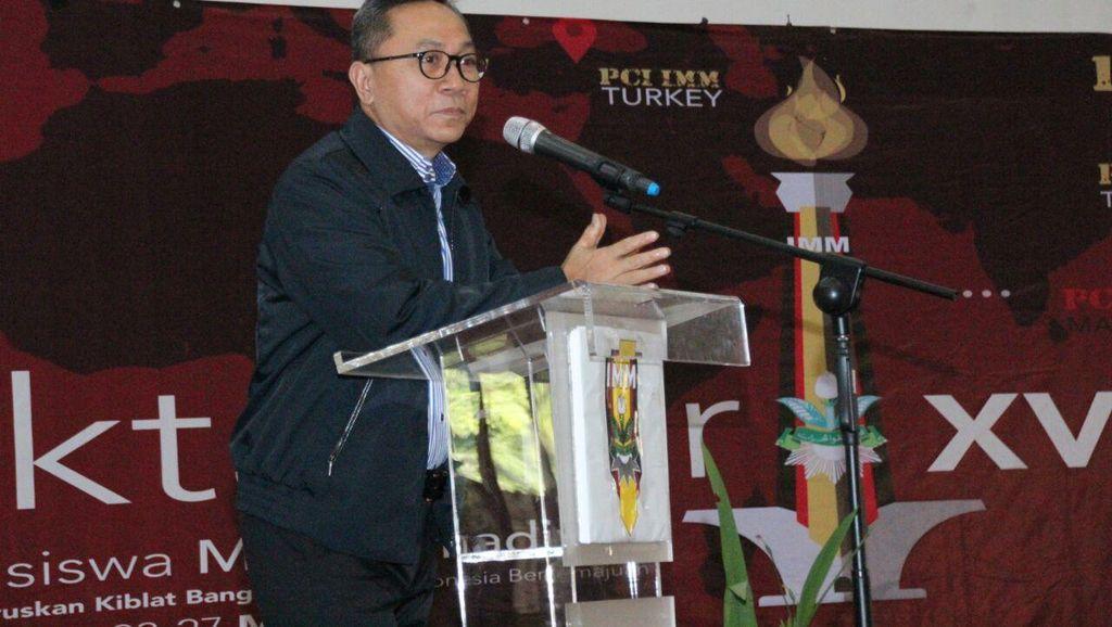 Di Muktamar XVII IMM, Ketua MPR Bicara Pentingnya Haluan Negara