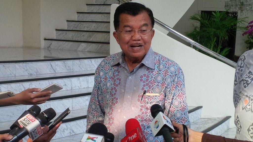 Upaya Bom Bunuh Diri di Medan, JK: Tunggu Hasil Pemeriksaan Polisi