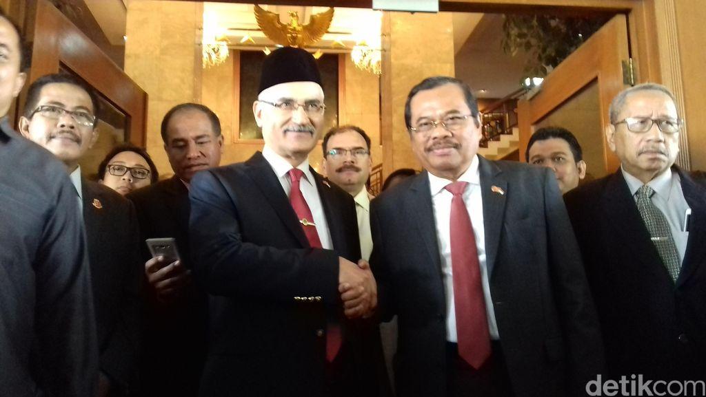 Bertemu Kejaksaan Turki, Jaksa Agung Bahas Terorisme Sampai Korupsi