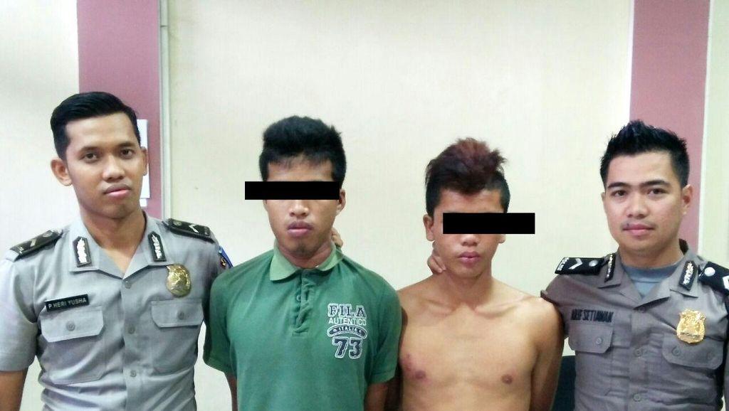 Curi Tas Berisikan Senpi Polisi, Dua Pria di Kampar Riau Didor