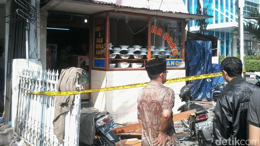 Ledakan Tabung Gas dari RM Padang, Saksi: Suaranya Kencang Mirip Bom!