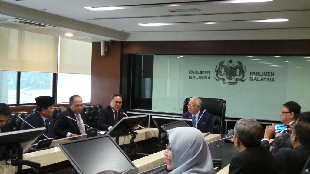 Ketua MPR Bertemu PM Malaysia M Najib, Pererat Hubungan Dua Bangsa Serumpun