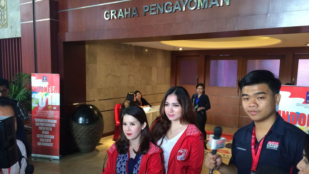 Partai Idaman dan PSI Diverifikasi, Begini Persiapan Rhoma dan Grace Natalie