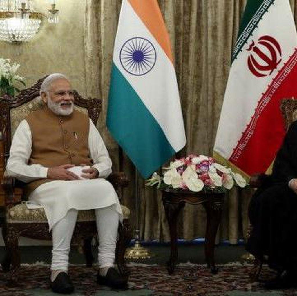 India dan Iran Teken Kesepakatan Pelabuhan Bersejarah