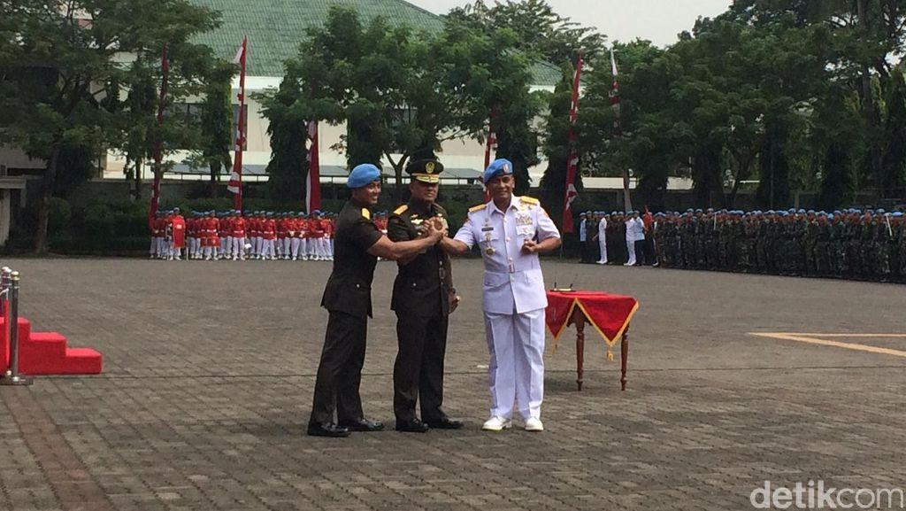 Pesan Panglima TNI ke Danpaspampres: Jangan Ada Kesalahan Sekecil Apapun