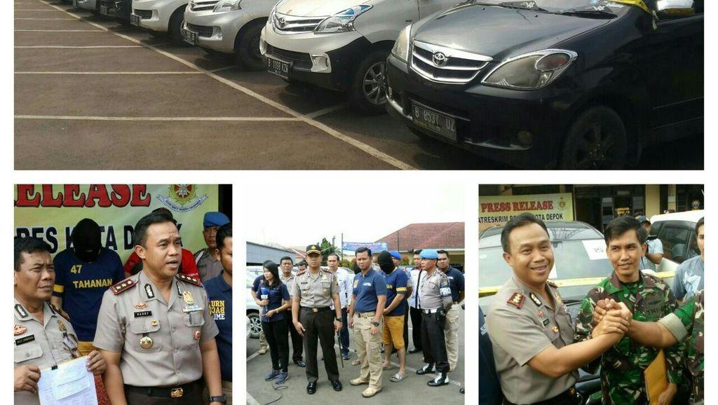 Pelaku Penggelapan Mobil di Depok Bukan Finalis KDI