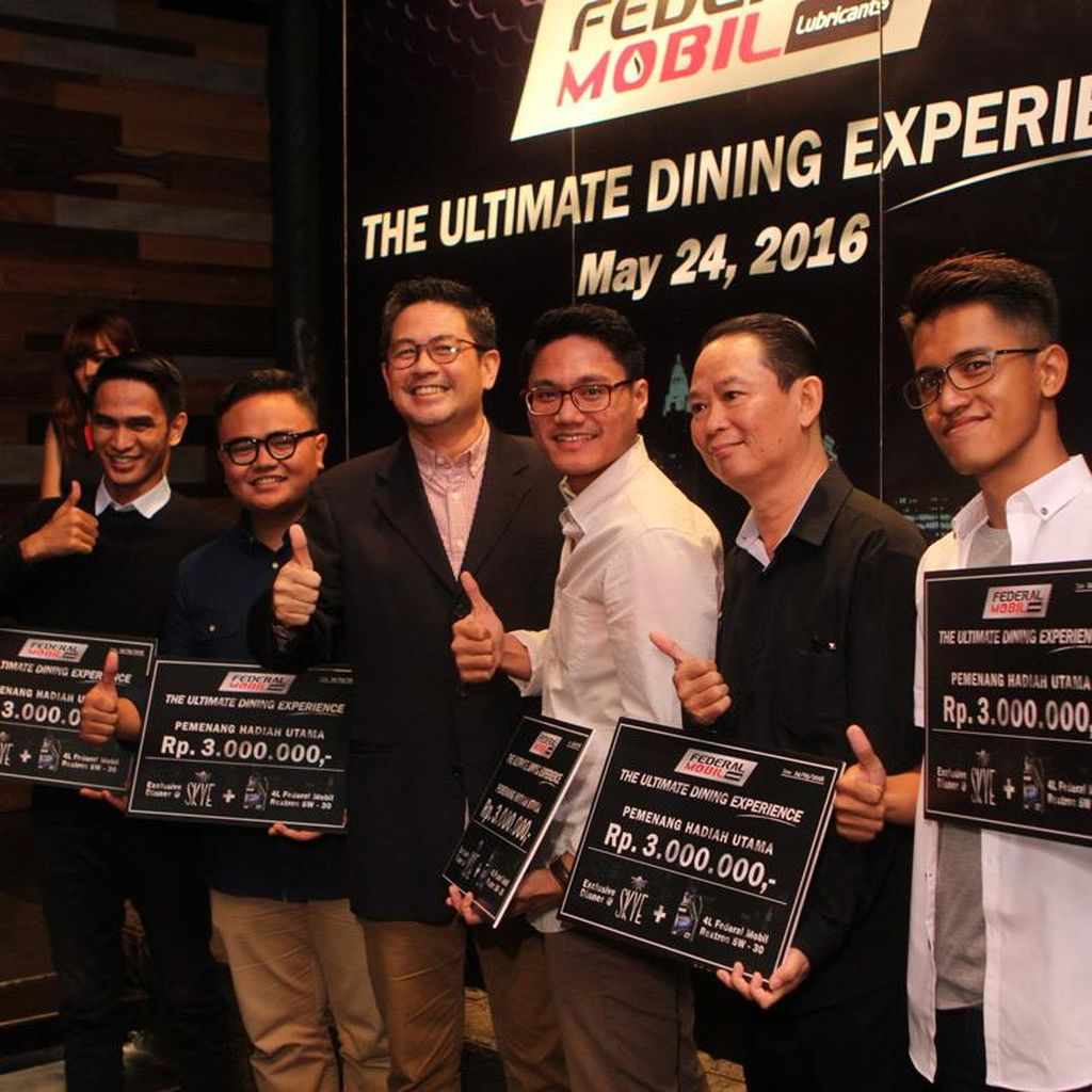 Federal Mobil Lubricants Luncurkan Program The Ultimate Dining Experience