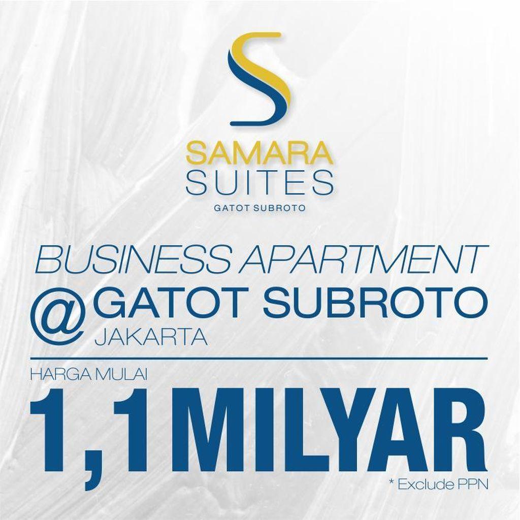 Baru Seminggu Dikenalkan, Business Apartment Samara Suites Laris !