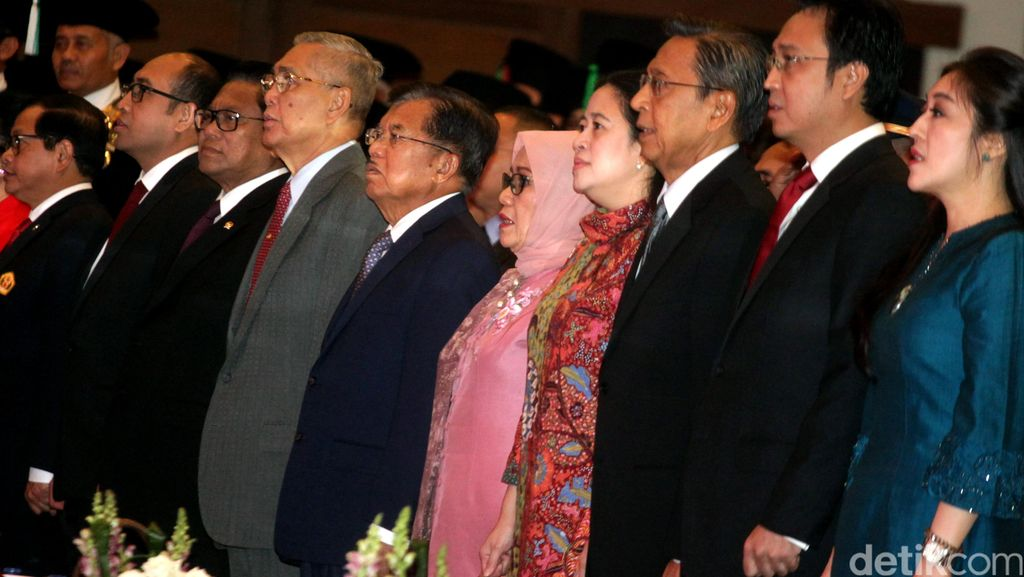 Sejumlah Tokoh Hadiri Penganugerahan Doktor HC Megawati
