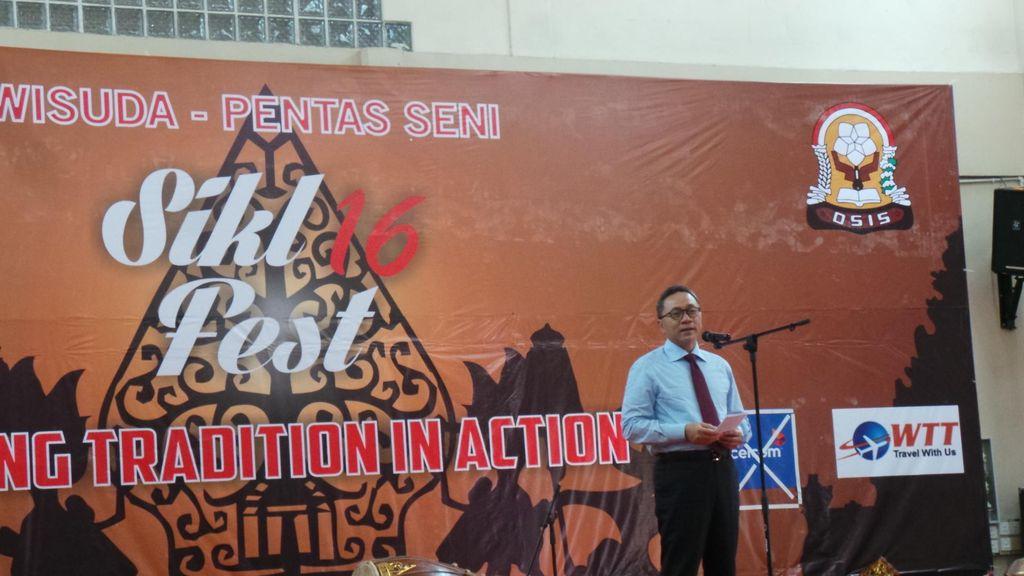 Di Malaysia Ketua MPR Isi Ceramah Sosialisasi 4 Pilar untuk Pelajar Indonesia