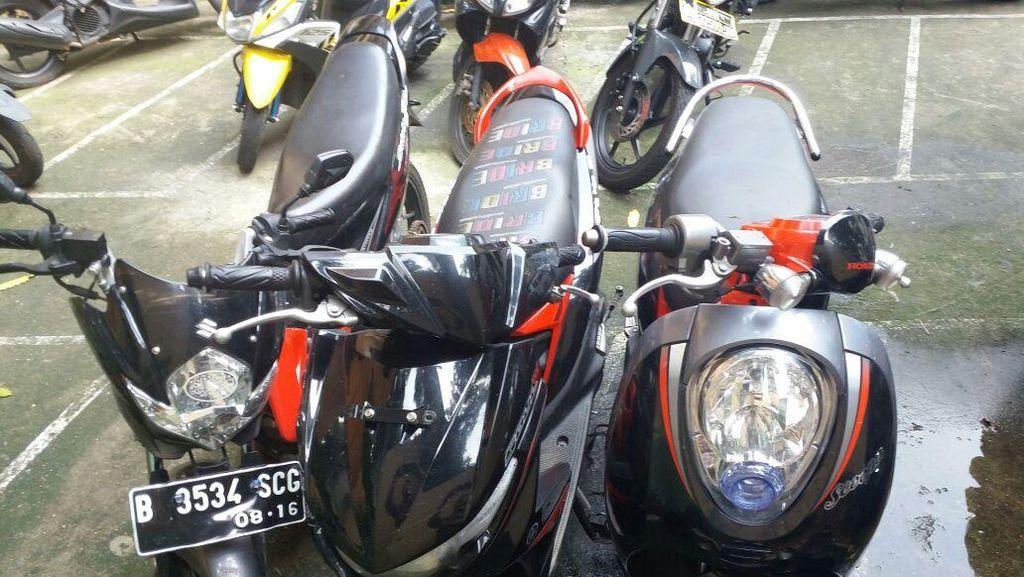 Angky Diciduk Polisi Usai Curi Sepeda Motor di Parkiran Kampus